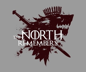 stark and the north remembers image
