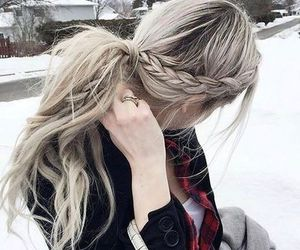 fashion, hair, and hairstyle image