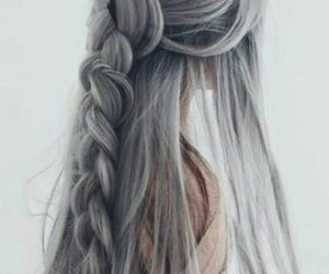 girl, hair, and colors image