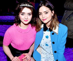 maisie williams and jenna coleman image