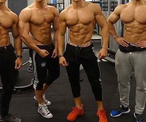 boys, fitness, and gym image