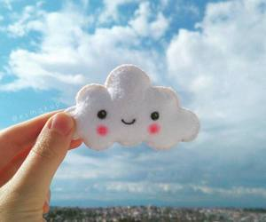 clouds, smile, and happiness image