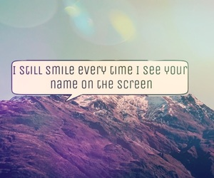 quotes, screen, and smile image