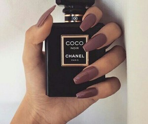 nails, chanel, and coco chanel image