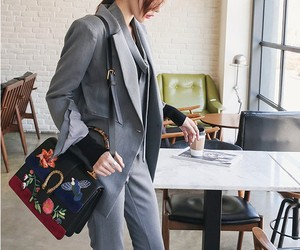 bag, fashion, and business style image