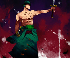 one piece and roronoa zoro image