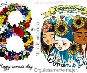 dia de la mujer and 8 de marzo image