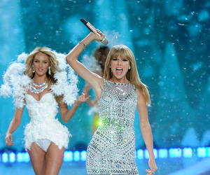 Taylor Swift, model, and vs image