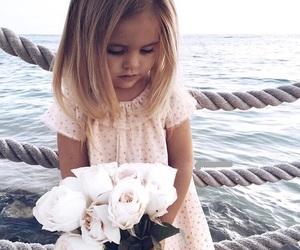 girl, sea, and cute image