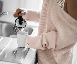 coffee, sweater, and tumblr image