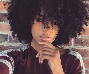 natural hair, beauty, and curls image