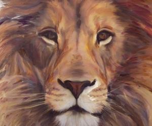 amazing, iphone, and lion image