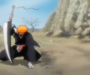 Ichigo, strong boy, and kurosaki-kun image