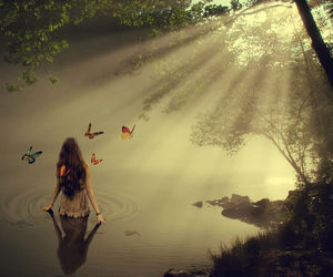 fantasy, fairy, and girl image