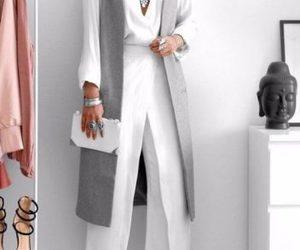 long grey vest image