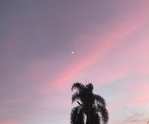 sky, pink, and tumblr image