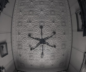 architecture, college, and ceiling image