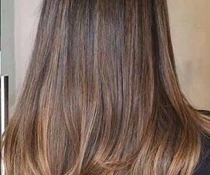 hair and brown hair image