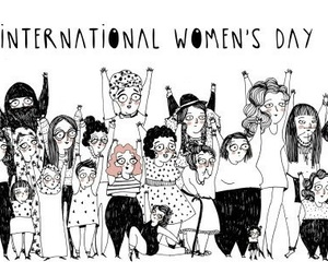 woman, international women's day, and international image