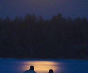 full moon, lua cheia, and supermoon image