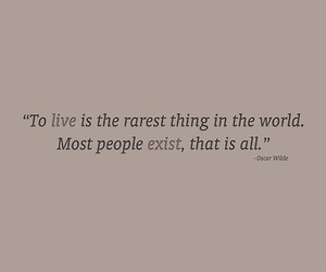 exist, live, and quotes image