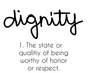 worth, equality, and honor image