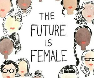 feminism, female, and girl power image