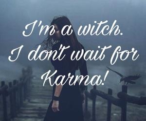 karma, revenge, and witch image