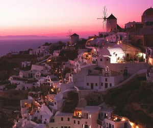 Greece, santorini, and beautiful+island image
