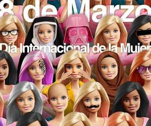 barbie, girl, and Internacional image