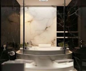 bathroom, luxury, and goals image