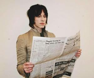 newspaper, sebastian danzig, and palaye royale image