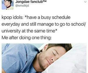 kpop, relatable, and memes image