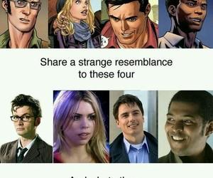 comic, david tennant, and doctor who image