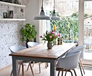 home, decoration, and kitchen image