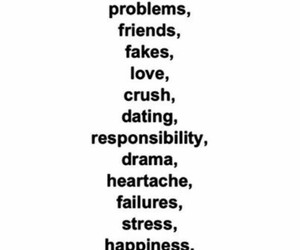 life, problem, and love image