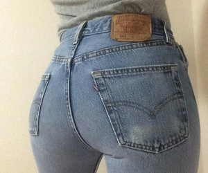 butt and jeans image