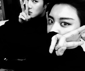 exo, chanyeol, and sehun image