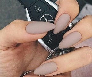 car, manicure, and nails image