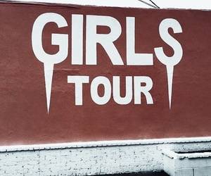 girls tour, aesthetic, and fashion image