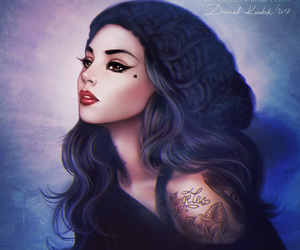draw, fanart, and kat von d image
