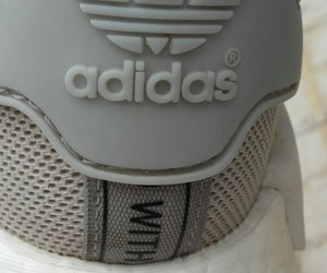 adidas, boost, and gris image