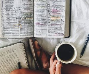 coffee, god, and love image