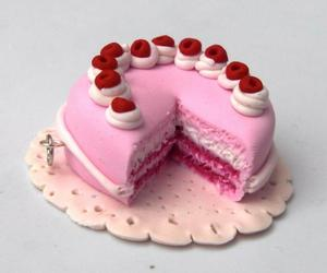 cake, fimo, and porcelana fria image