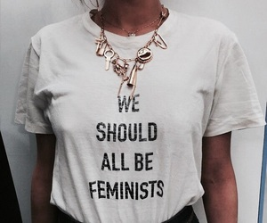 fashion, feminist, and girl image