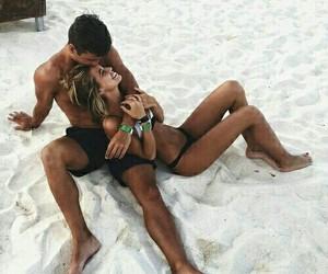 beach, cuddle, and lifegoal image