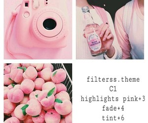 filter, pink, and vsco image