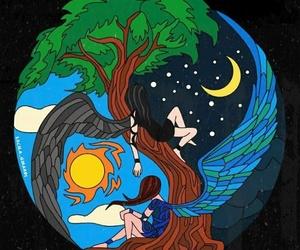 camren, moon, and sun image
