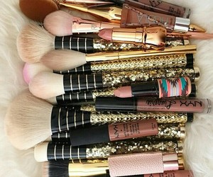 girl, makeup, and lové image