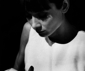 60s, black&white, and audrey image